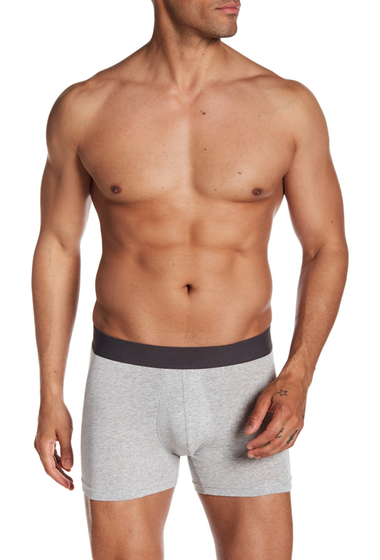 Imbracaminte Barbati 14th Union Stretch Boxer Brief LIGHT GREY HEATHER