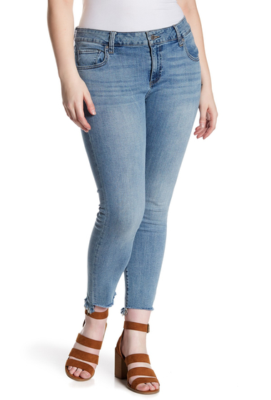 Imbracaminte Femei Lucky Brand Ginger Skinny Jeans Plus Size DIVINITY