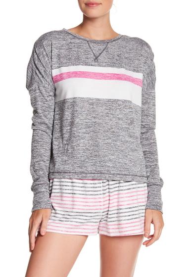 Imbracaminte Femei kensie Stripe Knit Pullover GREY