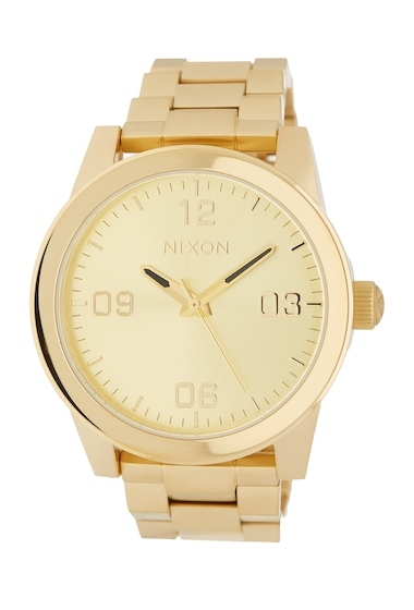 Ceasuri Femei Nixon Womens GI Bracelet Watch 36mm ALLGOLD