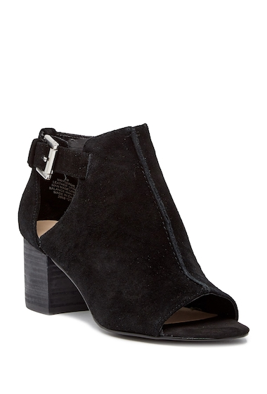 Incaltaminte Femei Nine West Gerdie Peep Toe Bootie BLACK SU