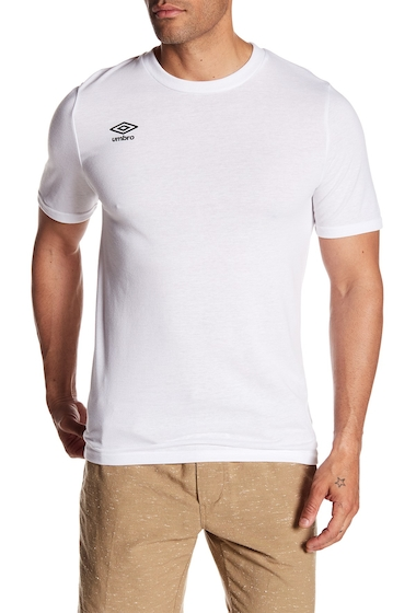Imbracaminte Barbati Umbro Arch Ultra Short Sleeve Tee WHITE BLACK