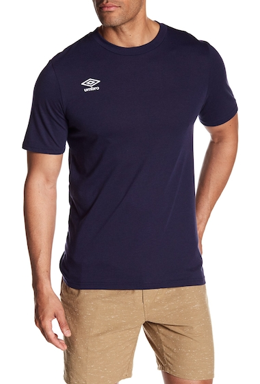 Imbracaminte Barbati Umbro Arch Ultra Short Sleeve Tee NAVY WHITE