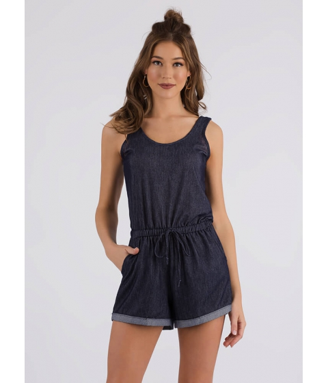 Imbracaminte Femei CheapChic Ready For Adventure Drawstring Romper Blue