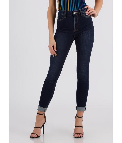 Imbracaminte Femei CheapChic Magic Hour High-waisted Skinny Jeans Dkblue