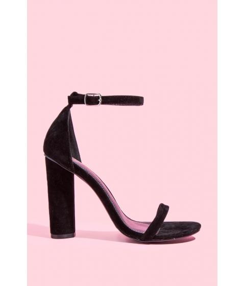 Incaltaminte Femei CheapChic Ankle Strap Heel Black