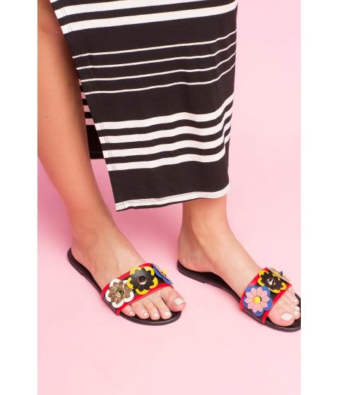 Incaltaminte Femei CheapChic Bring Me Flowers Sandal Black