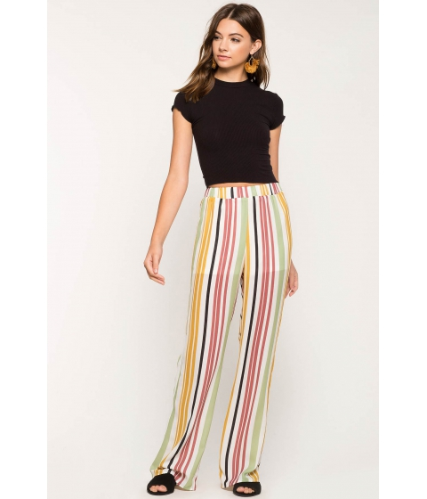 Imbracaminte Femei CheapChic Sherbet Stripe Wide Leg Pant FuchsiaPink Pattern