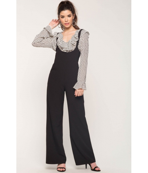 Imbracaminte Femei CheapChic Dressed Up Overalls Black