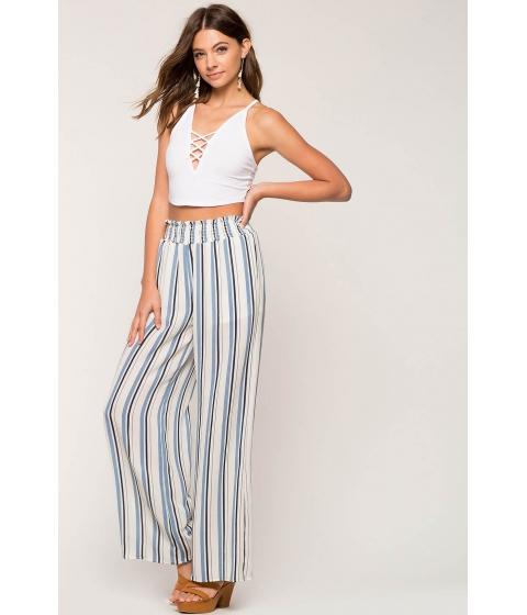 Imbracaminte Femei CheapChic Maria Stripe Wide Leg Pant Blue Pattern