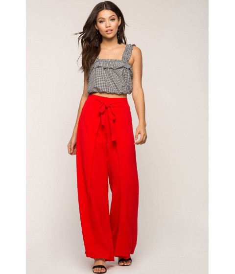 Imbracaminte Femei CheapChic Tie Front Wrap Pants Red