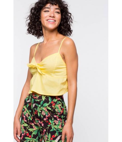 Imbracaminte Femei CheapChic Kylie Tie Peplum Yellow