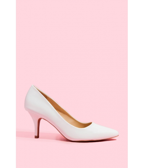 Incaltaminte Femei CheapChic Clean And Simple Pump White