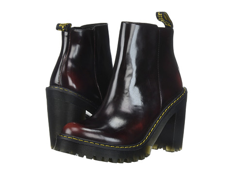 Incaltaminte Femei Dr Martens Magdalena Ankle Zip Boot Cherry RedArcadia