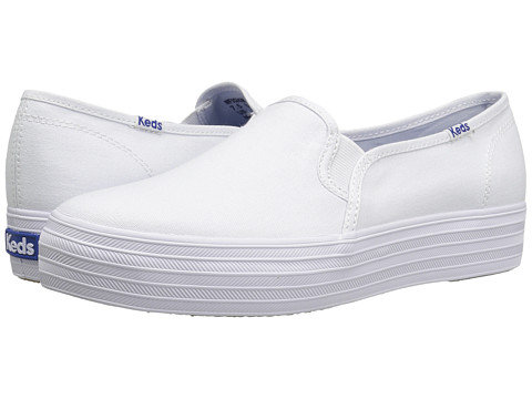 Incaltaminte Femei Keds Triple Decker Canvas White