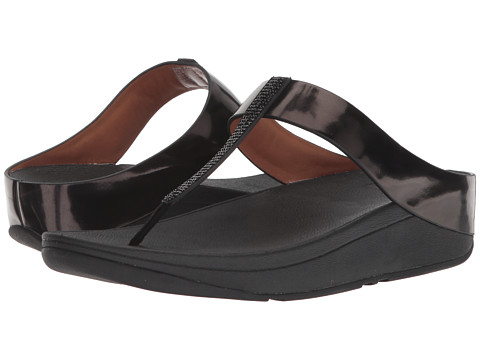 Incaltaminte Femei FitFlop Fino Crystal Toe-Thong Sandals Black