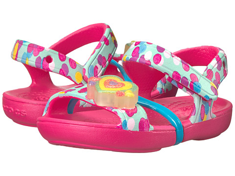 Incaltaminte Baieti Emu Australia Kids Lina Lights Sandal (ToddlerLittle Kid) Paradise Pink
