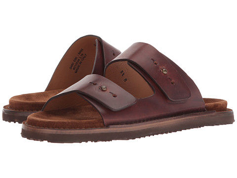 Incaltaminte Femei Frye Andrew Slide Brown