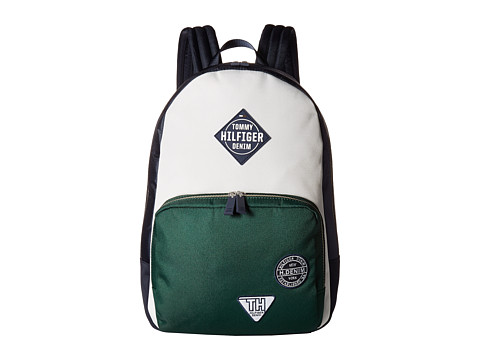 Genti Femei Tommy Hilfiger THD Patch Backpack NavyVerdant Green