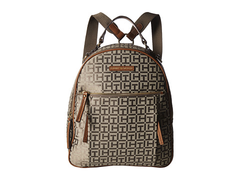Genti Femei Tommy Hilfiger Kelby Backpack TanDark Chocolate