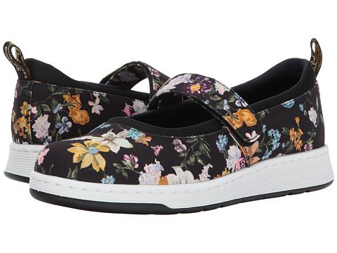 Incaltaminte Femei Dr Martens Askins DF Mary Jane Shoe Black Darcy Floral Fine CanvasBlack Sport Spacer Mesh