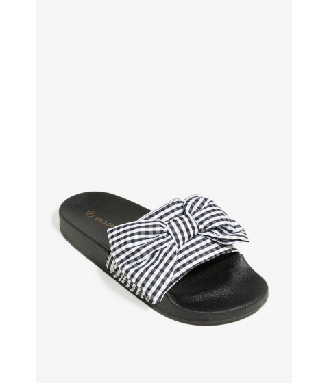 Incaltaminte Femei CheapChic Not So Simple Gal Sandal Black Pattern
