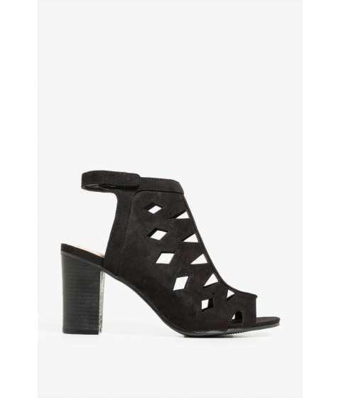 Incaltaminte Femei CheapChic Lets Cut Out Of Here Heel Black