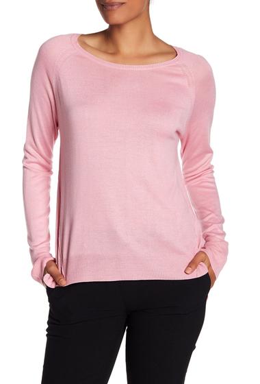 Imbracaminte Femei Philosophy Apparel Long Sleeve Knit Sweater PINK LOTUS