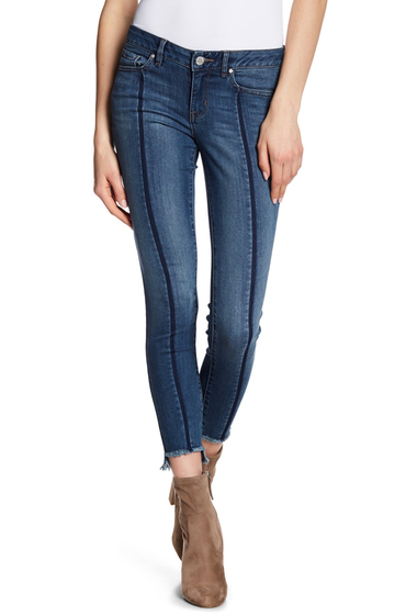 Imbracaminte Femei William Rast Step Hem Ankle Skinny Jeans VIVID SHADOW