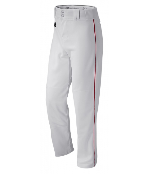 Imbracaminte Barbati New Balance 2000 Baseball Pant White with Red