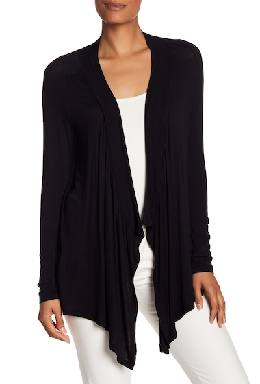 Imbracaminte Femei Philosophy Apparel Long Sleeve Jersey Shrug BLACK