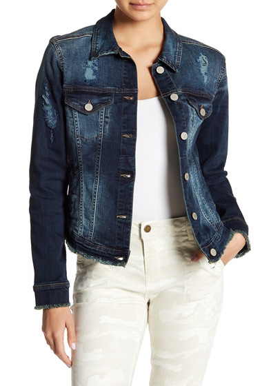 Imbracaminte Femei William Rast Sussex Denim Jacket RAVISHING INDIGO