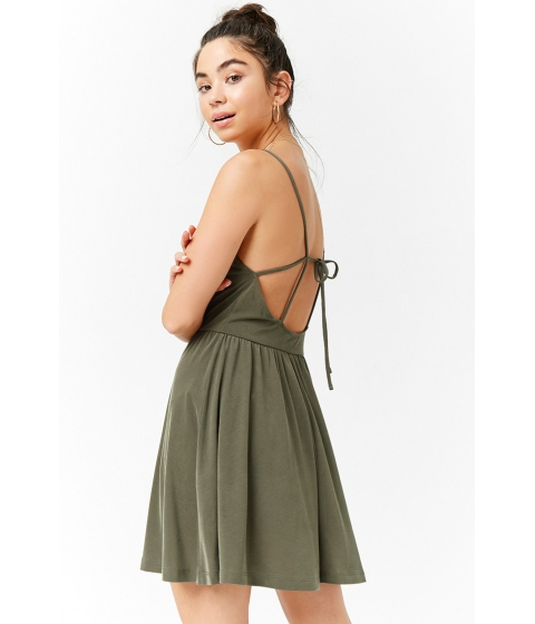 Imbracaminte Femei Forever21 Strappy Cami Dress OLIVE