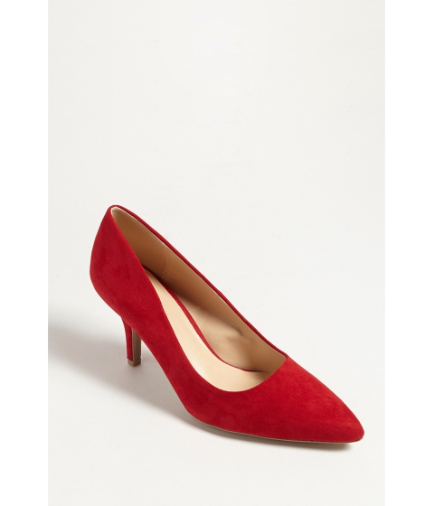 Incaltaminte Femei Forever21 Qupid Pointed Faux Suede Pumps RED