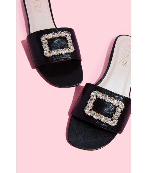 Incaltaminte Femei CheapChic Leave The Night On Sandal Black