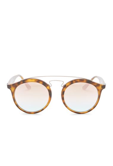 Ochelari Femei Ray-Ban Mens Phantos Aviator Sunglasses MATTE HAVANA
