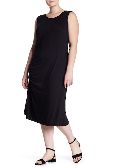 Imbracaminte Femei Bobeau Camari Knit Dress Plus Size BLACK