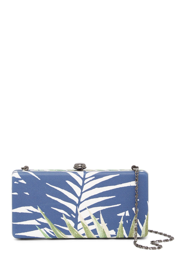Genti Femei Deux Lux Antigua Box Clutch WHITE