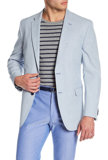 Imbracaminte Barbati Tommy Hilfiger Ethan Pincord Stripe Sport Coat BLUEWHITE