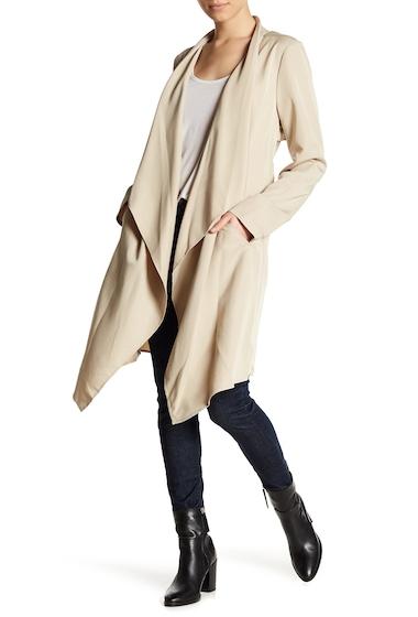 Imbracaminte Femei kensie Draped Trench Coat SAND