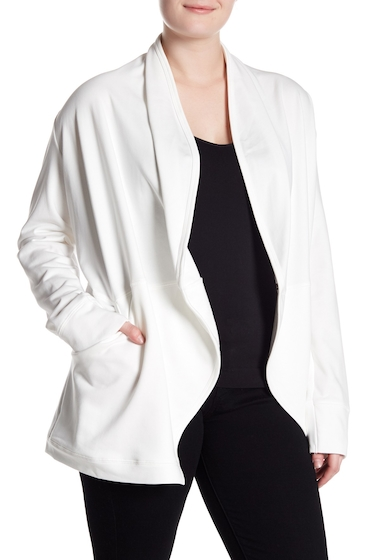 Imbracaminte Femei MELLODAY Open Front Cardigan Plus Size IVORY