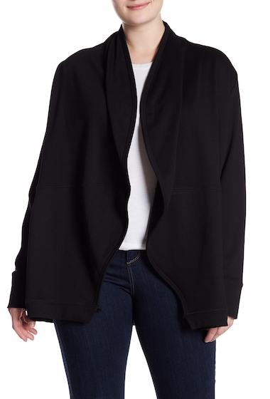 Imbracaminte Femei MELLODAY Open Front Cardigan Plus Size BLACK