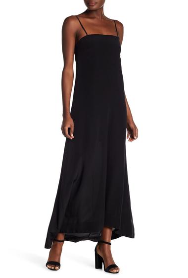 Imbracaminte Femei Theory Spaghetti Strapped Long Dress BLACK
