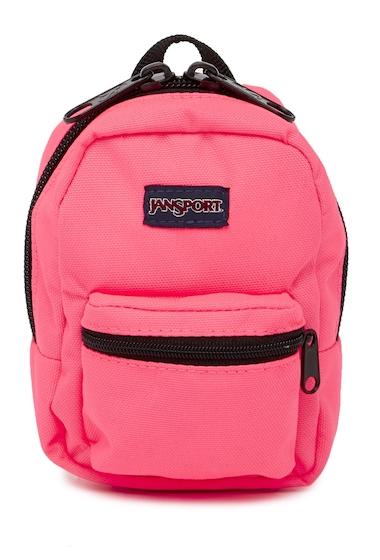 Genti Femei JanSport Lil Break Backpack NEON PINK