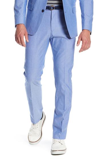 Imbracaminte Barbati Tommy Hilfiger Chambray Pants BLUE