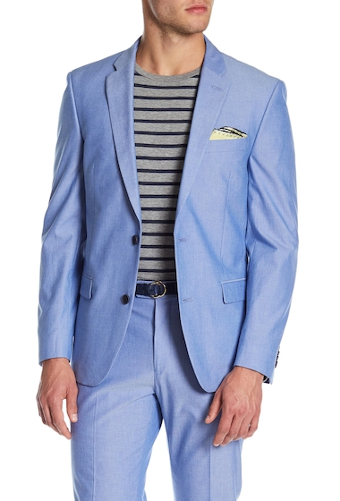 Imbracaminte Barbati Tommy Hilfiger Chambray Sport Coat BLUE