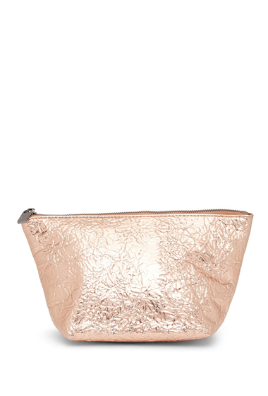 Genti Femei Deux Lux Static Cosmetic Pouch ROSE GOLD