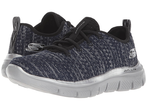 Incaltaminte Baieti SKECHERS Flex Advantage 20 - Cravy 97497L Lights (Little KidBig Kid) NavyGrey