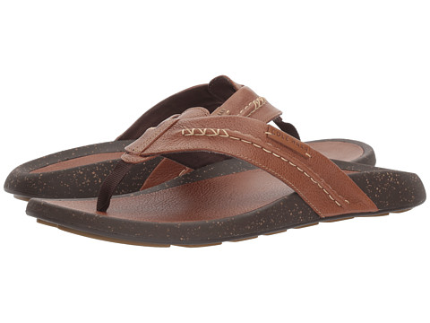Incaltaminte Barbati Cole Haan Brady Thong Sandal British Tan Leather