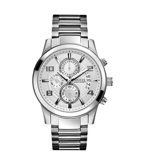 Ceasuri Barbati GUESS Silver-Tone Multifunction Watch no color